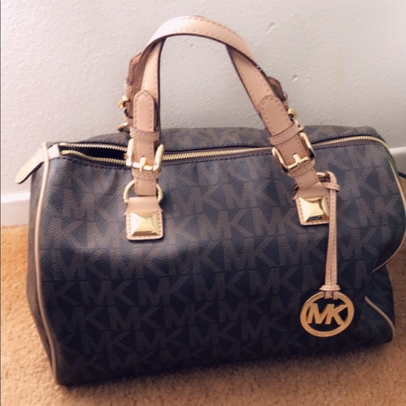 00a356eb555191 MICHAEL Michael Kors Bags | Michael Kors Speedy Large Bag | Poshmark